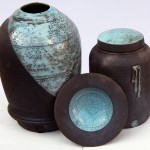 Armada dish, bottle form and lidded jar forms