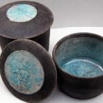 Large lidded jar forms